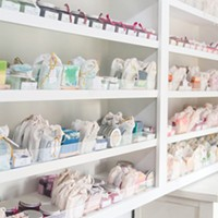 Local Lather Laboratory & Soap Shop features handcrafted bath and beauty products.