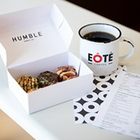Humble Donut Co. has partnered with local coffee roaster EÔTÉ to provide its coffee service across the country.