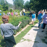 Stephanie Holiman teaches organic gardening classes at various locations around Oklahoma City and Chile.