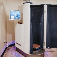 Cold and heat therapies are both available at Sense Float & Cryo Spa