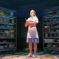Christine Dwyer plays Jenna in the OKC Broadway production of Waitress.