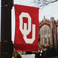 University of Oklahoma officials say combined donations and pledges have made the university cash positive.