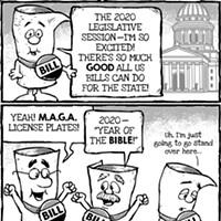 Cartoon: Silly bills