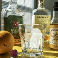 Barkeep Supply carries an array of specialty products, including Norman-based Vault Ice and OKC-based Winship's Bitters.