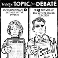 Cartoon: Democracy inaction