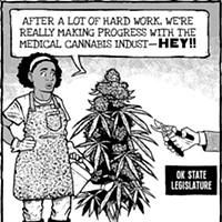 Cartoon: Weed killers