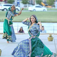 Dancers perform at the 2019 India Food and Arts Festival