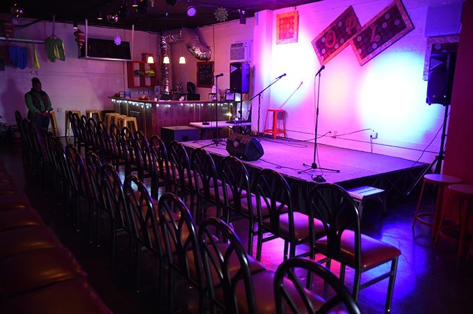 It has a lot of room, but they just purchased a new venue, which is even bigger.  mh