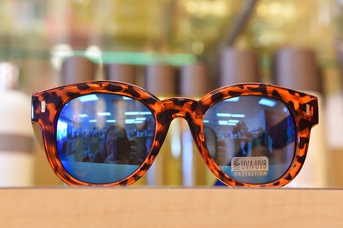 Sunglasses at Makeup Bar.  mh