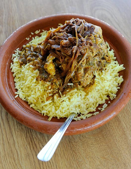 Chicken Tagine at Cous Cous Cafe in Oklahoma City, Wednesday, Jan. 13, 2016. - GARETT FISBECK