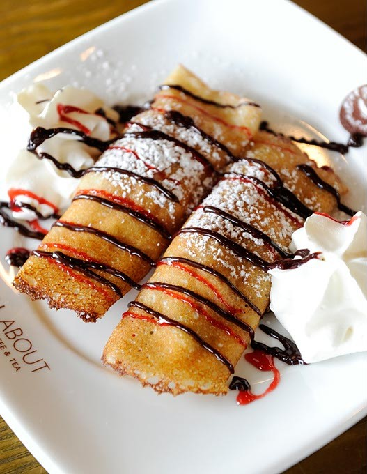 Fruit Crepes at All About Cha in Oklahoma City, Thursday, Sept. 17, 2015. - GARETT FISBECK