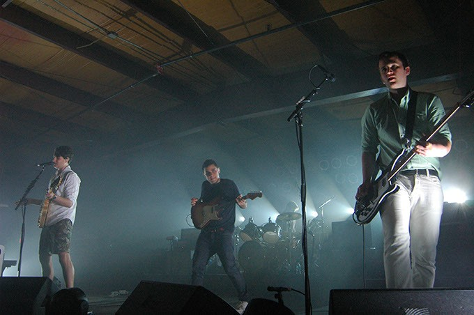 Vampire Weekend perform in front of a packed house at Diamond Ballroom, OKC (Devon Green)