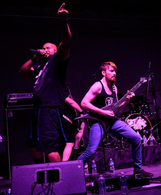 Lost Empires perform at Norman Music Festival 9 in Norman, Friday, April 22, 2016. - GARETT FISBECK