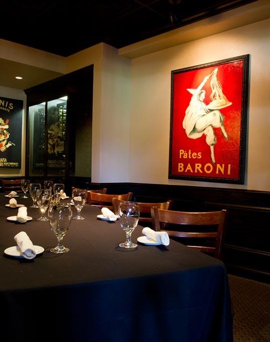 timelaspe of private dining area inside Bellini's Ristorante in Oklahoma City, Monday, July 6, 2015 - KEATON DRAPER