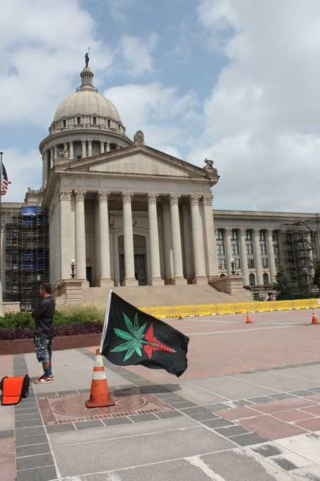 Green the Vote hope to get medical marijuana on a state ballot in 2016. - LAURA EASTES