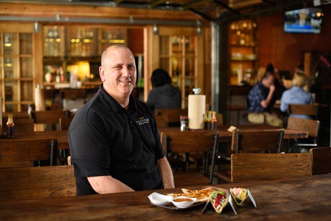 Gary Goldman poses for a photo at Cultivar in Oklahoma City, Wednesday, March 30, 2016. - GARETT FISBECK
