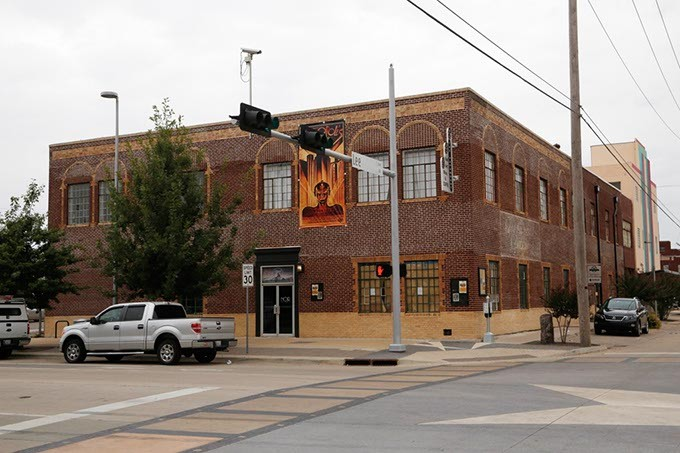 The Paramount Building in Oklahoma City, Monday, Oct. 5, 2015. - GARETT FISBECK