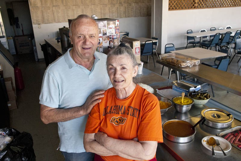 Brother and sister, Dimitrios Smirlis and Mary Mihas, make and sell hotdogs, and have for many years, at the Capitol Hill Coney Island location.  mh