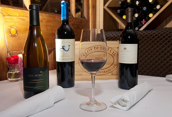 3 of the wines which will be available at The Metro Wine Bar & Bistro's tasting, Refreshing the Palate.  file 11-20-2012 mh
