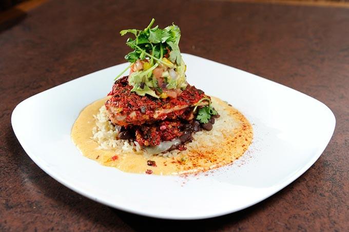 Santa Fe Chicken at Cafe 501 in Oklahoma City, Monday, Jan. 26, 2015. - GARETT FISBECK