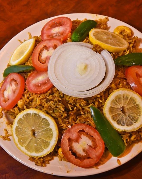 Goat Biryani at Dhabha Taste of India.  mh