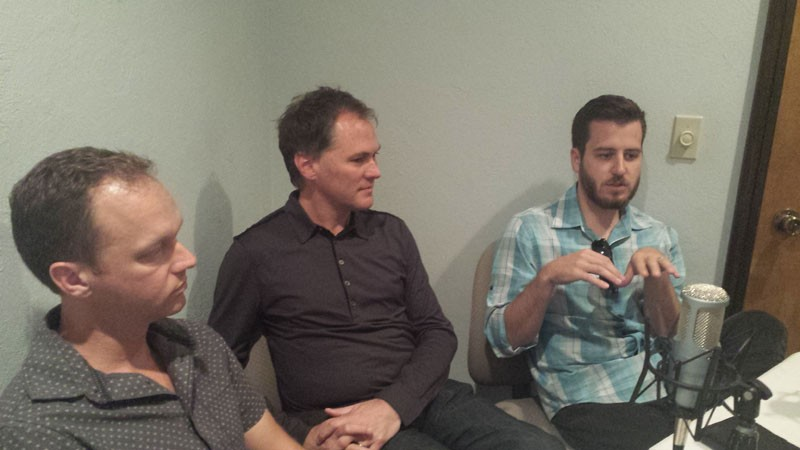 Ben Sellers, David Wanzer and Jonathan Dodson were this week's guests on the Capital City Podcast. - BEN FELDER