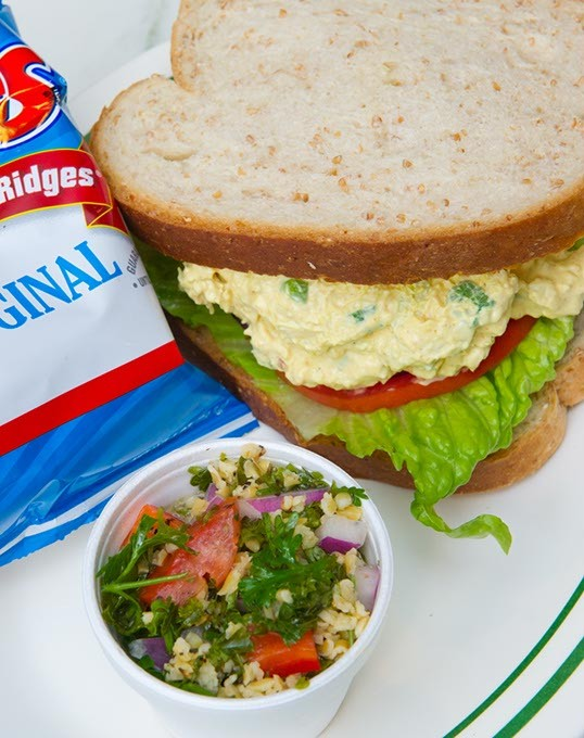 The curry chicken salad is a popular favorite at The Brown Bag Deli (Ross Adams)