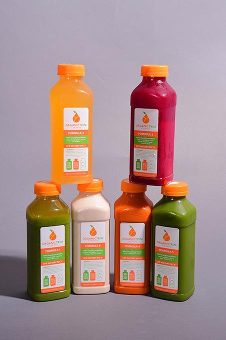 Organic Trim Cleansing Drinks.  mh