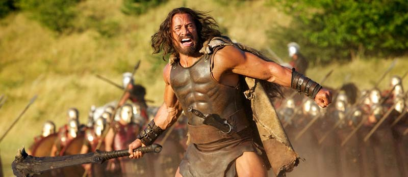 """FOR FIRST USE WITH 3/24 SNEAK PEEK Dwayne Johnson in the title role in a scene from the motion picture """"Hercules."""" CREDIT: Kerry Brown, Paramount Pictures [Via MerlinFTP Drop] - KERRY BROWN"""