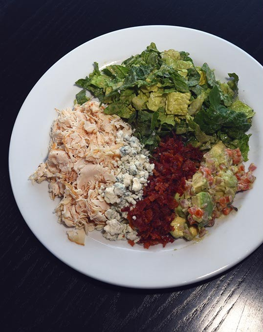 Deconstructed Cobb Salad at West Bricktown, 2-3-16. - MARK HANCOCK