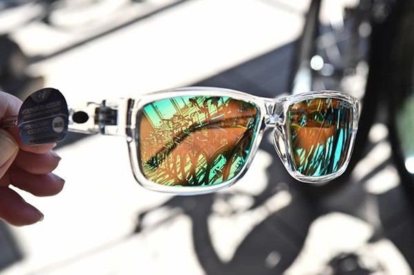 Get yourself some cool sunglasses for your bike ride, at Bike One in Norman, 2-17-16. - MARK HANCOCK