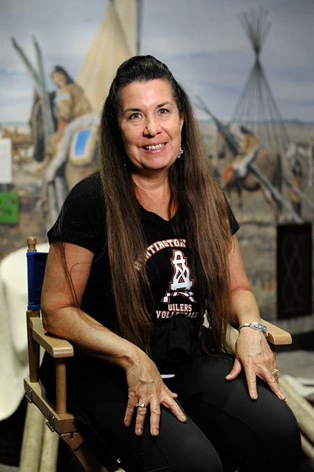 Valerie Red-Horse at the Oklahoma History Center in Oklahoma City, Wednesday, July 8, 2015. - GARETT FISBECK