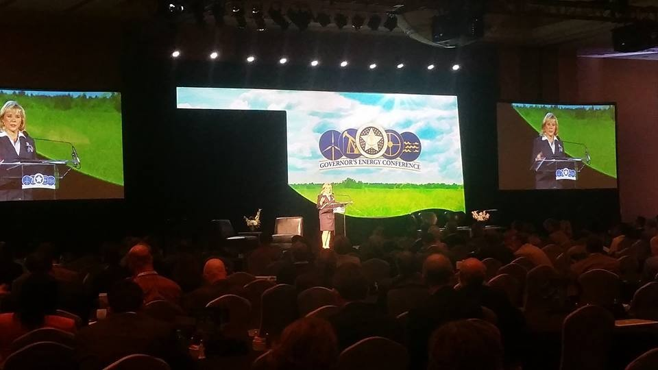 Gov. Mary Fallin spoke at the 2014 Governor's Energy Conference in Oklahoma City. - GOVERNOR'S OFFICE