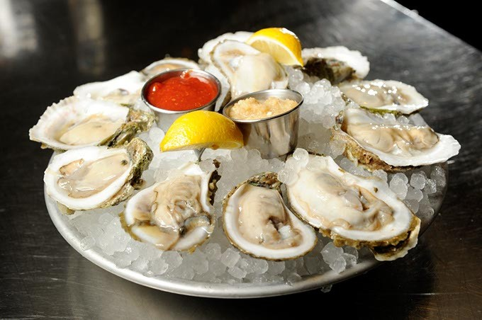 Oysters at Pearl's in Oklahoma City, Thursday, Jan. 21, 2016. - GARETT FISBECK