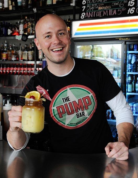 Ryan Black poses for a photo at The Pump Bar in Oklahoma City, Monday, Nov. 30, 2015. - GARETT FISBECK