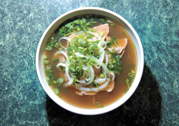 Pho Tai (beef pho) at Pho Cuong, 3016 N. Classen Blvd.  mh
