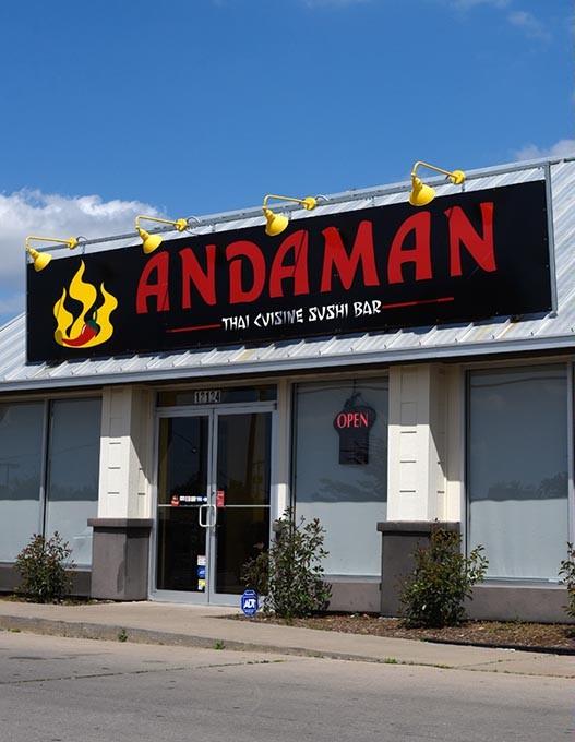 Andaman Thai Cuisin Sushi Bar in Oklahoma City, Monday, April 25, 2016. - GARETT FISBECK