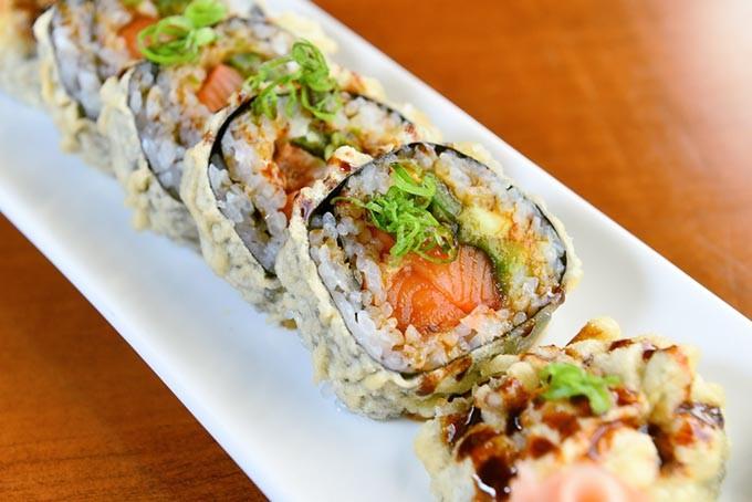 Sushi bar mustang