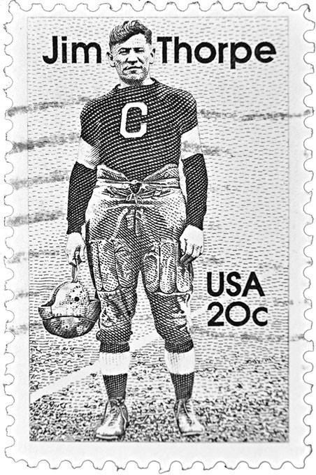 Jim Thorpe (bigstock.com)