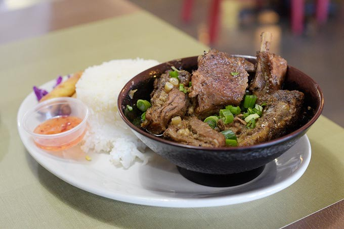 Pork ribs adobo at Chibugan in Del City, Wednesday, Jan. 4, 2017. - GARETT FISBECK