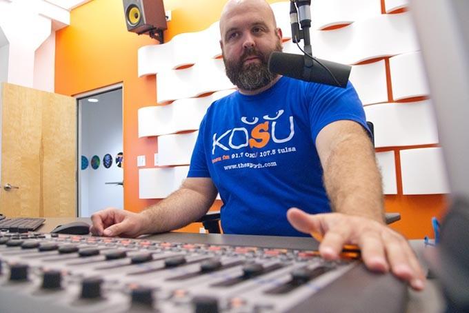 KOSU operations director Ryan LaCroix. | Photo Gazette / file