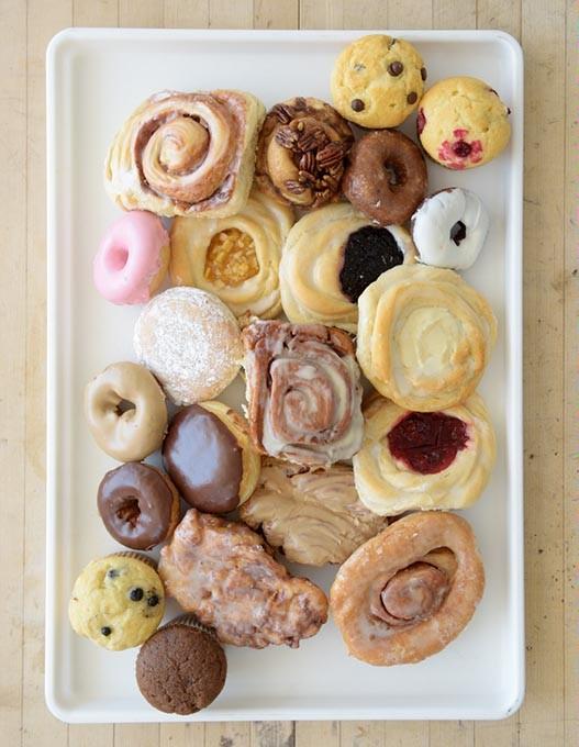 Donuts at Brown's Bakery in Oklahoma City, Thursday, Aug. 11, 2016. - GARETT FISBECK