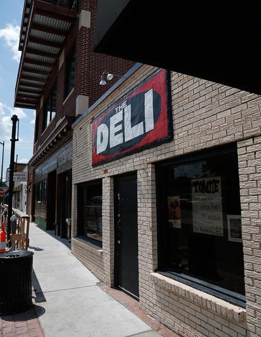 The Deli in Norman, Monday, June 20, 2016. - GARETT FISBECK