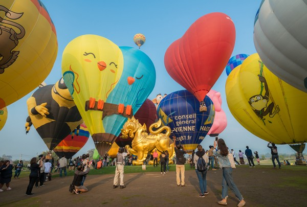 Oklahoma City Balloon Festival is the first balloon event the city has hosted in 13 years. (Photo illustration bigstock.com)
