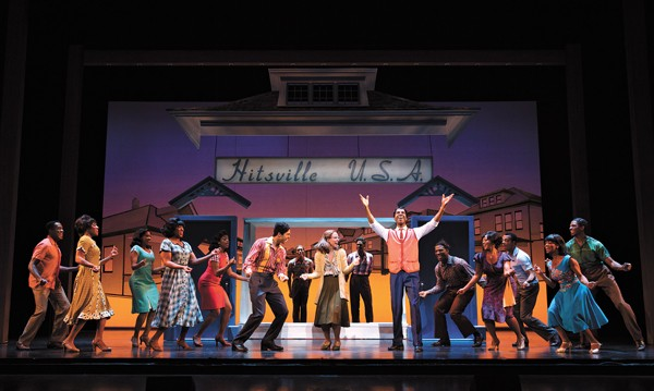 Motown the Musical - JULIUS THOMAS III (Berry Gordy) - ALLISON SEMMES (Diana Ross) - JESSE NAGER - SMOKEY ROBINSON