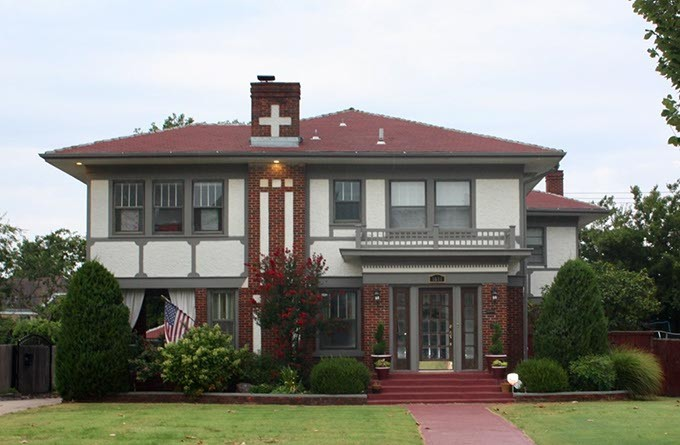 This home located at 1611 N. Classen Drive will be a stop on the 51st annual Heritage Hills Homes and Gardens Tour. (provided)