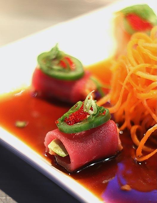 Ocean Blossom at Ocean 81 Sushi Bar. - CARA JOHNSON