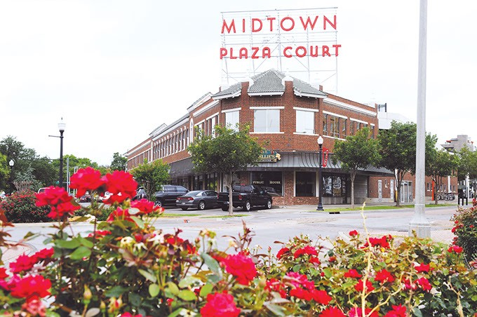 Midtown Plaza Court in Oklahoma City, Tuesday, June 16, 2015. - GARETT FISBECK