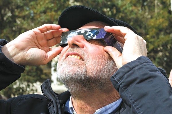 Special glasses will protect people's eyes when they view the Aug. 21 solar eclipse. - BIGSTOCKPHOTO.COM