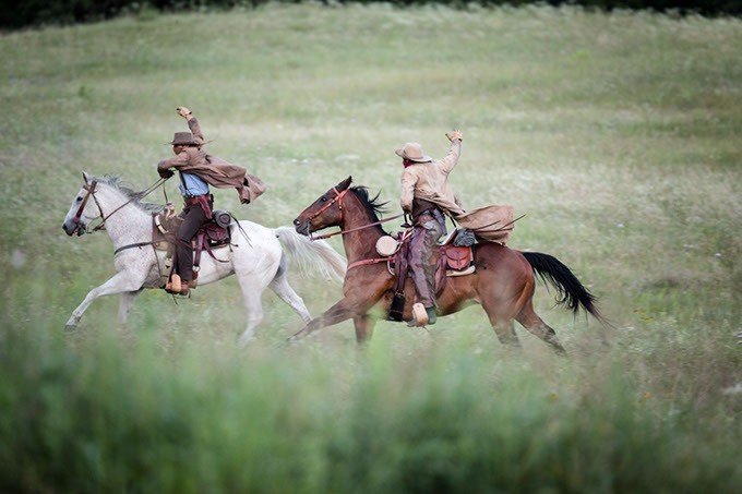The Chickasaw Rancher - Chickasaw Ranch set - Davis, OK - 6 June 2017 - Photographer: Jacquelyn Sparks - THE CHICKASAW NATION/JACQUELYN S